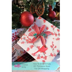 Small Crop Of How To Make Christmas Bows