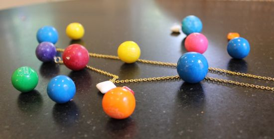 DIY Anthropologie Necklace | HelloGlow.co
