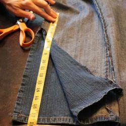 DIY Bell Bottom Jeans