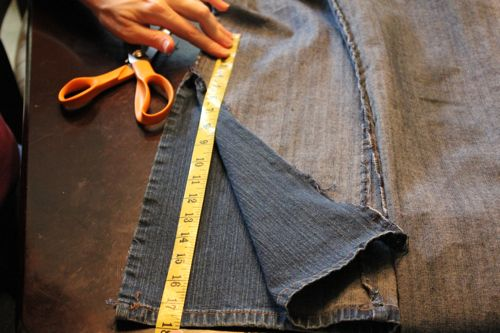 DIY Bell Bottom Jeans | HelloGlow.co