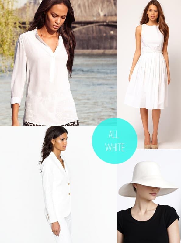 Get The Look All White