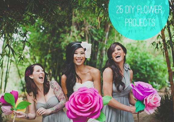 25 diy flower projects
