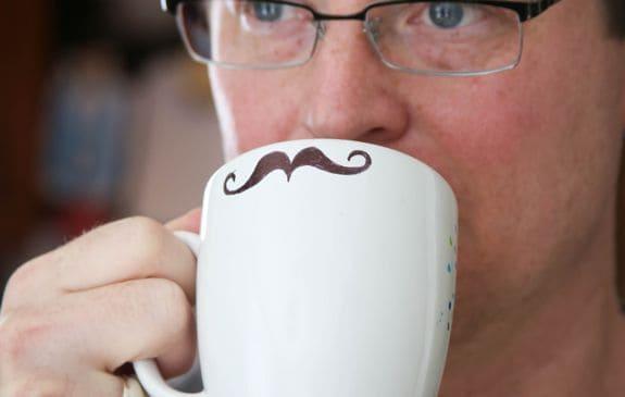 Sharpie Mustache