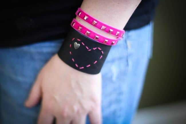 Heart Bracelet DIY