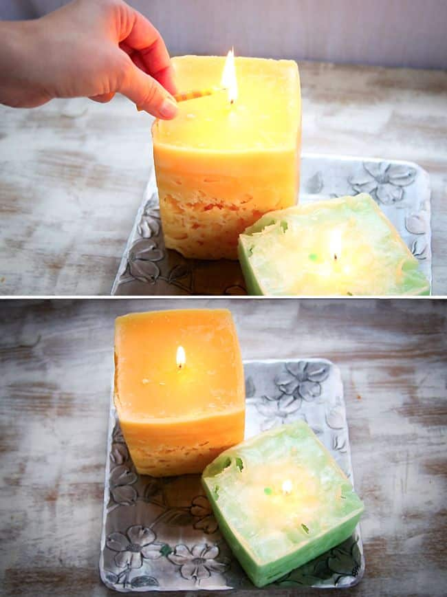 How to Make Ice Candles | HelloGlow.co