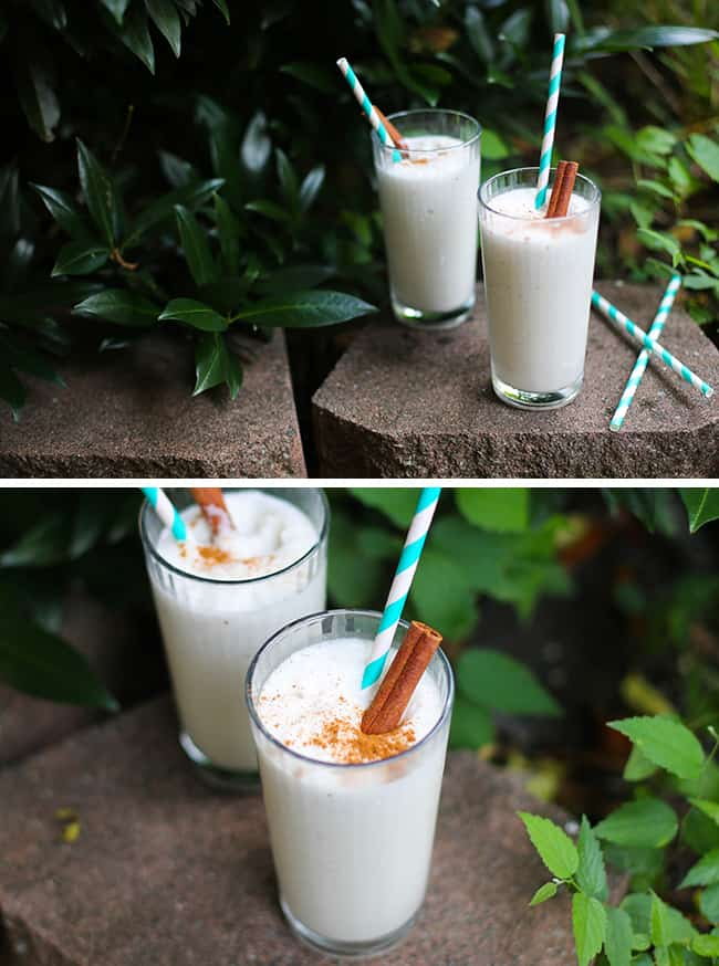 Homemade Horchata Milk