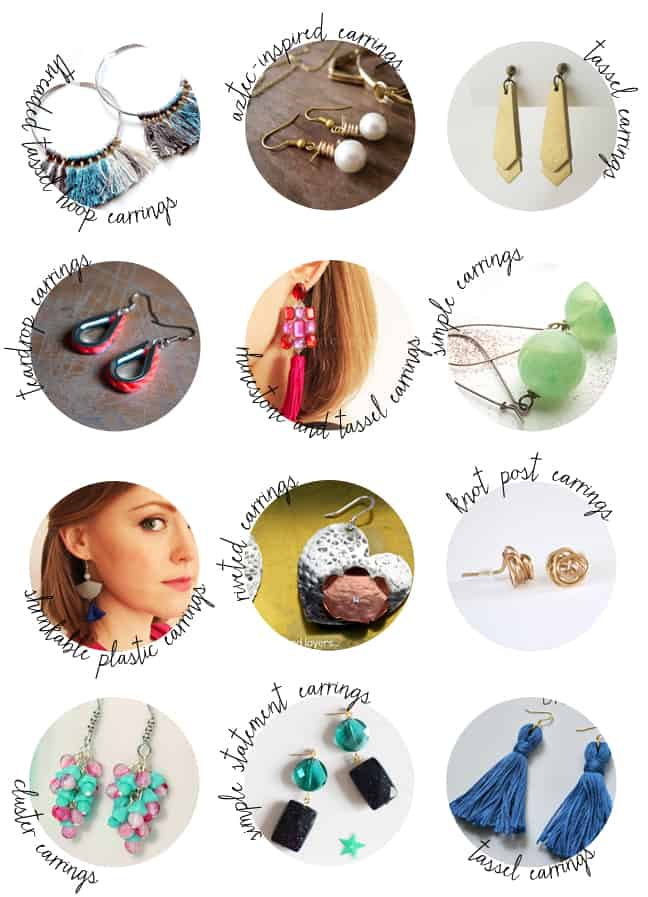 50 DIY Earrings | HelloGlow.co