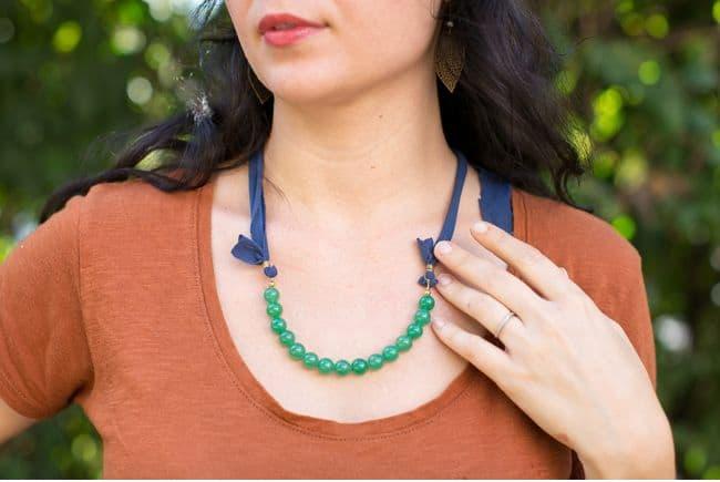 DIY Versatile Necklace | Hello Glow