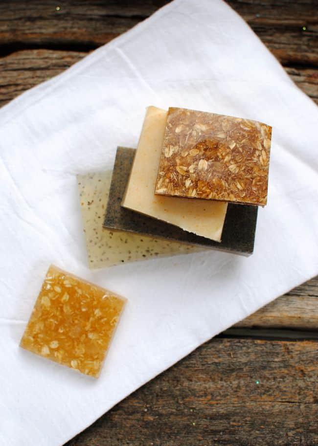 Homemade Soap 4 Ways | HelloGlow.co