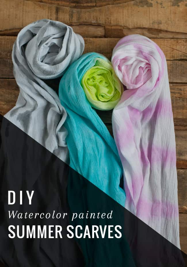 DIY Summer Scarf | Hello Glow