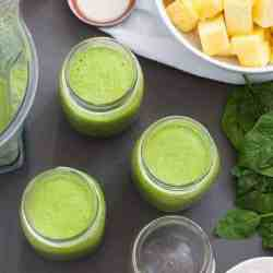 BIG BATCH SMOOTHIE: Make a Week of Green Smoothies in 10 Minutes