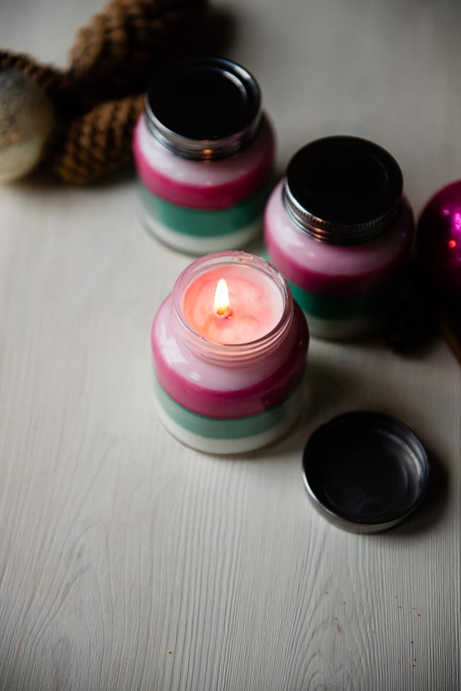 Layered Scent DIY Candle | HelloGlow.co