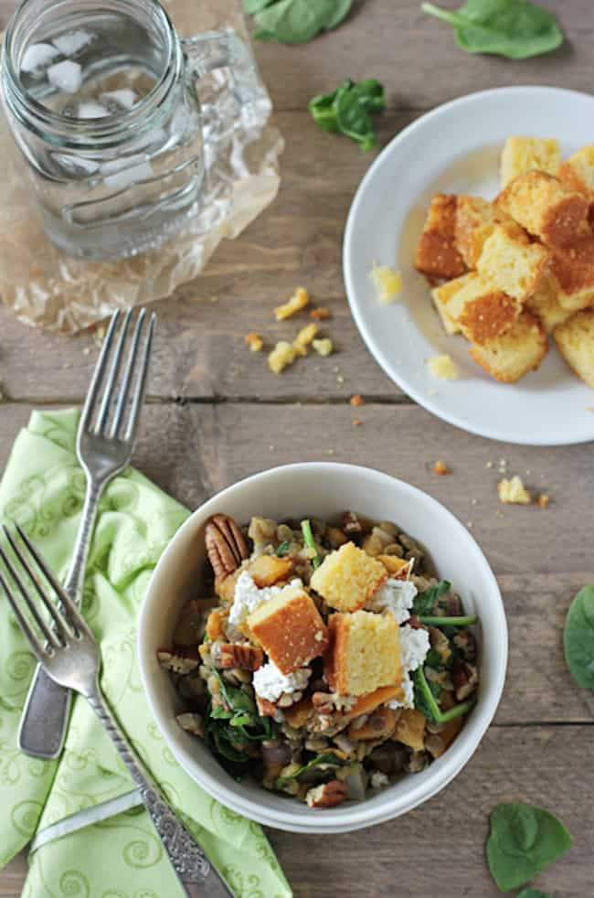 ... Lentil Salad with Butternut Squash and Goat Cheese from Cookie Monster