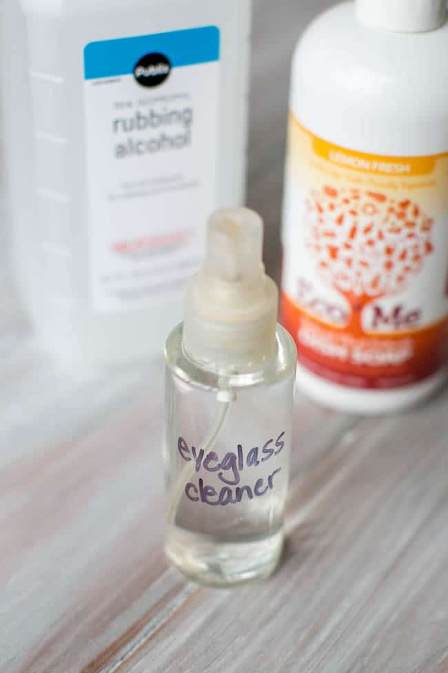 how to make your own eyeglass cleaner hello glow