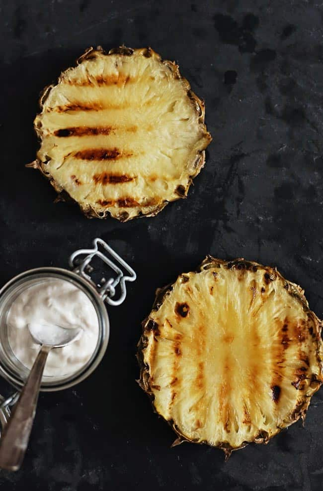 Grilled Pineapple with Coconut Whipped Cream + Toasted ...