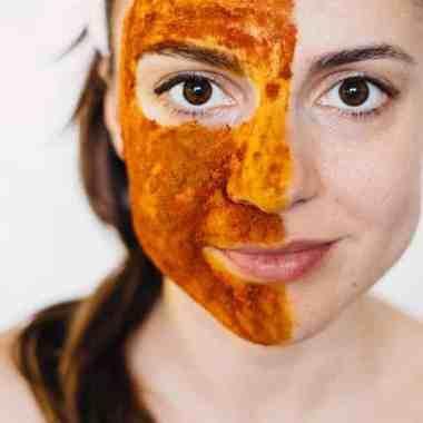 Beauty Inside Out: Turmeric Face Scrub + Fat-Burning Golden Milk