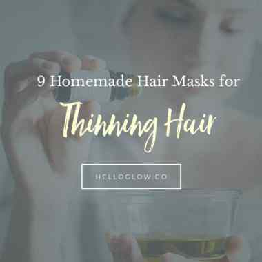 9 Homemade Hair Masks for Thinning Hair