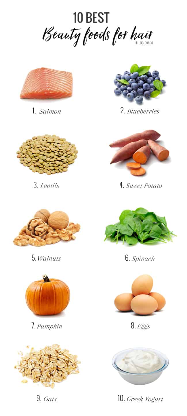 Best Foods To Help Your Hair Grow