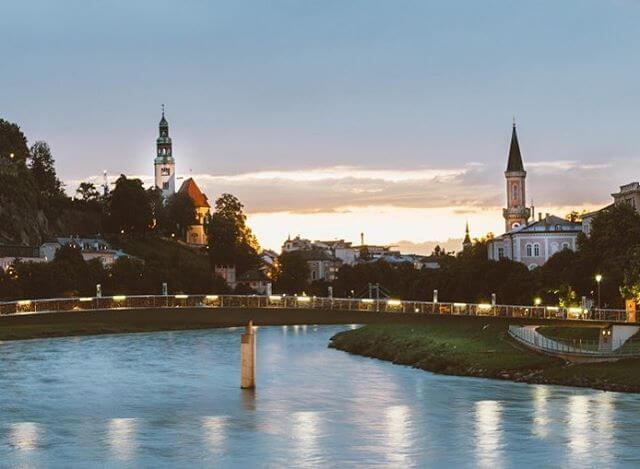 Sunsets in Salzburg