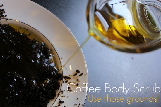 coffee scrub diy beauty