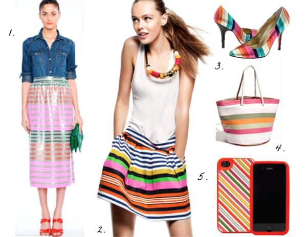 Colorful Stripes | HelloNatural.co