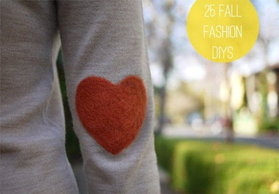 25 fall fashion diys