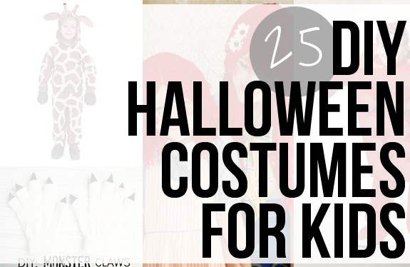 25 DIY Kids Halloween Costumes | HelloNatural.co