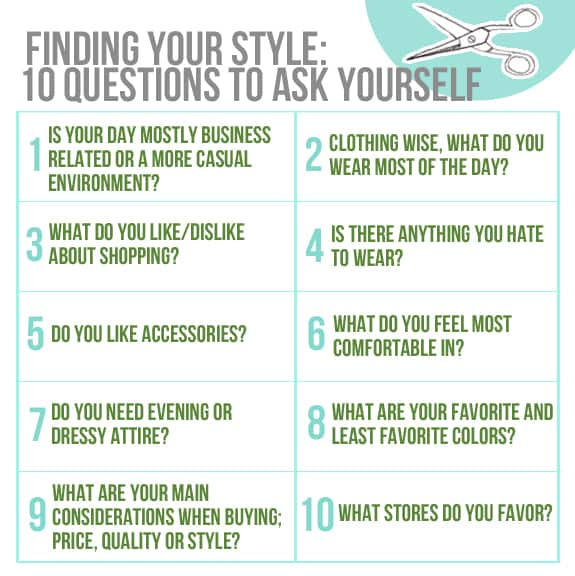 finding your style