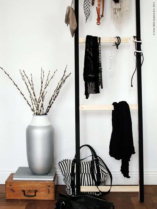DIY accessories ladder