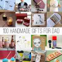 100 Handmade Gifts For Dad | HelloNatural.co