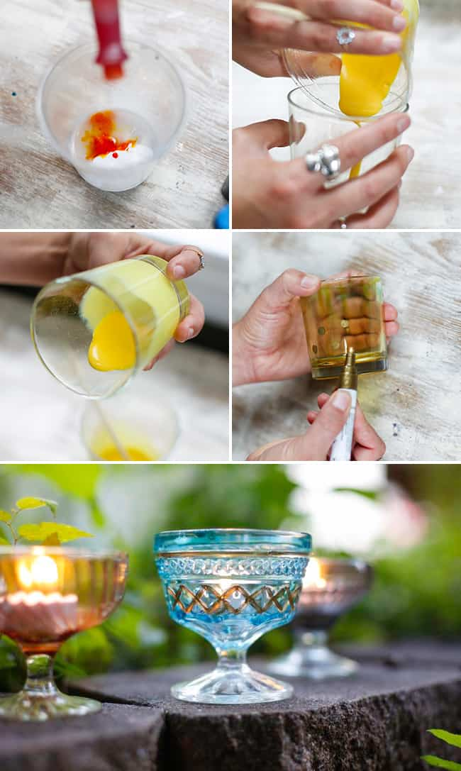 Recycled Glass Votives | Henry Happened