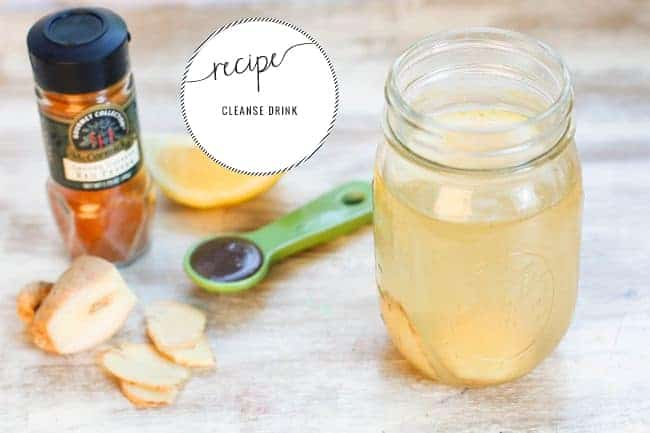 Daily Cleanse Water   11 Detox Teas