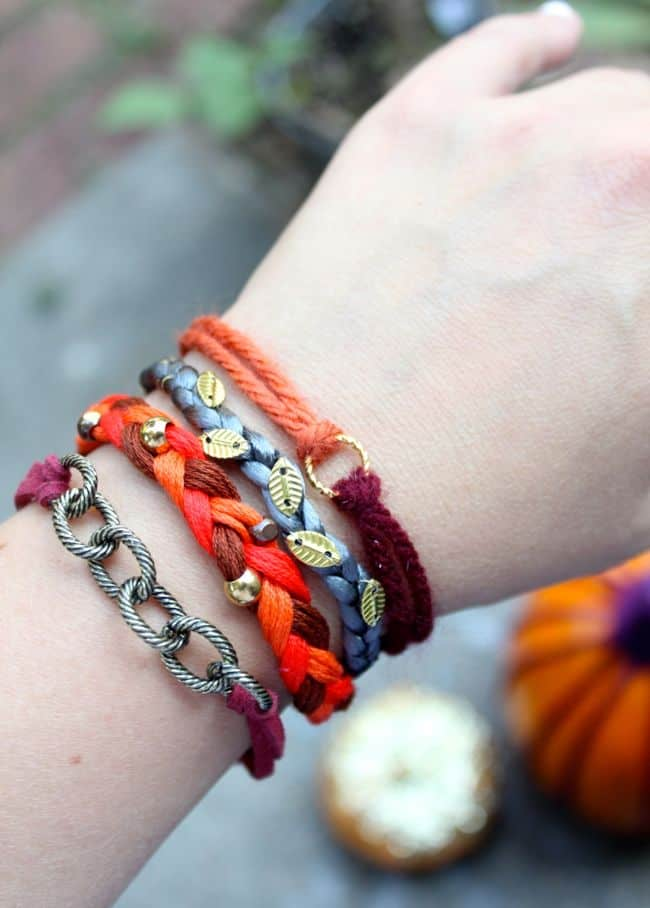 Pumpkin Spice Stack! Make 4 Fall Bracelets | HelloNatural.co