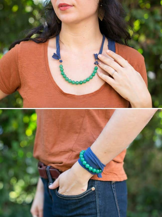DIY Bead Wrap Bracelet