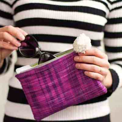 DIY Zipper Clutch