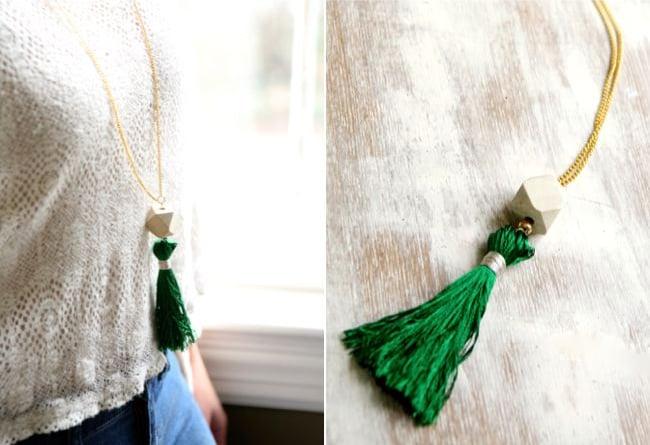 Tassel necklace | Henry Happened