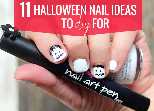 11 Halloween Nail Ideas to DIY For