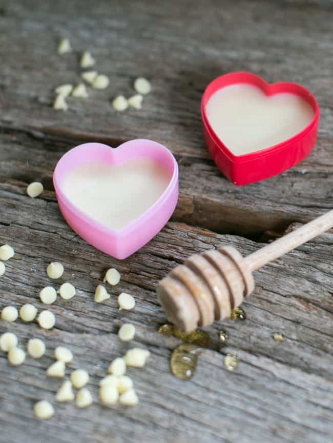 Honey + White Chocolate Lip Balm and Scrub   HelloNatural.co