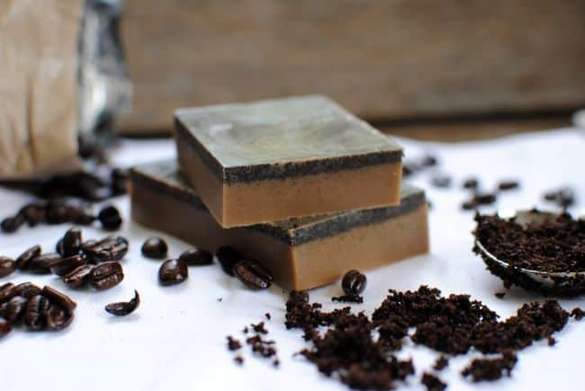 Coffee Soap | Homemade Soap 4 Ways | HelloNatural.co