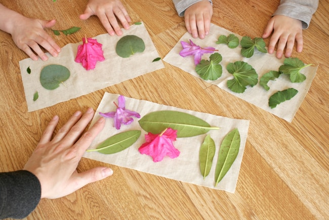 DIY Plant Dyed Eye Pillow | Henry Happened