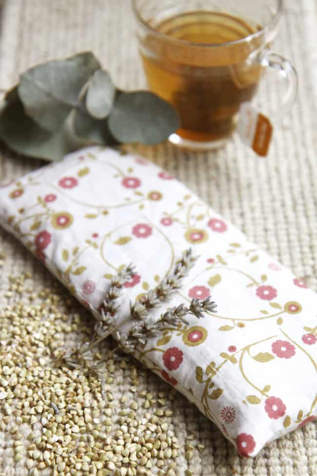 DIY Buckwheat + Lavender Eye Pillow | Henry Happened