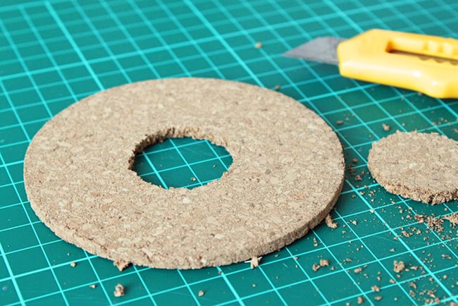 DIY Donut Coasters - Henry Happened