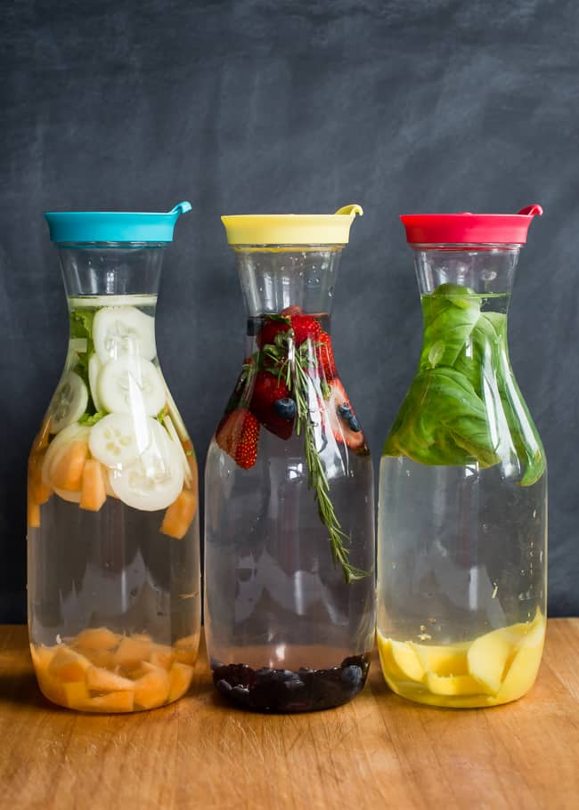 Summer Infused Water 3 Ways | HelloNatural.co