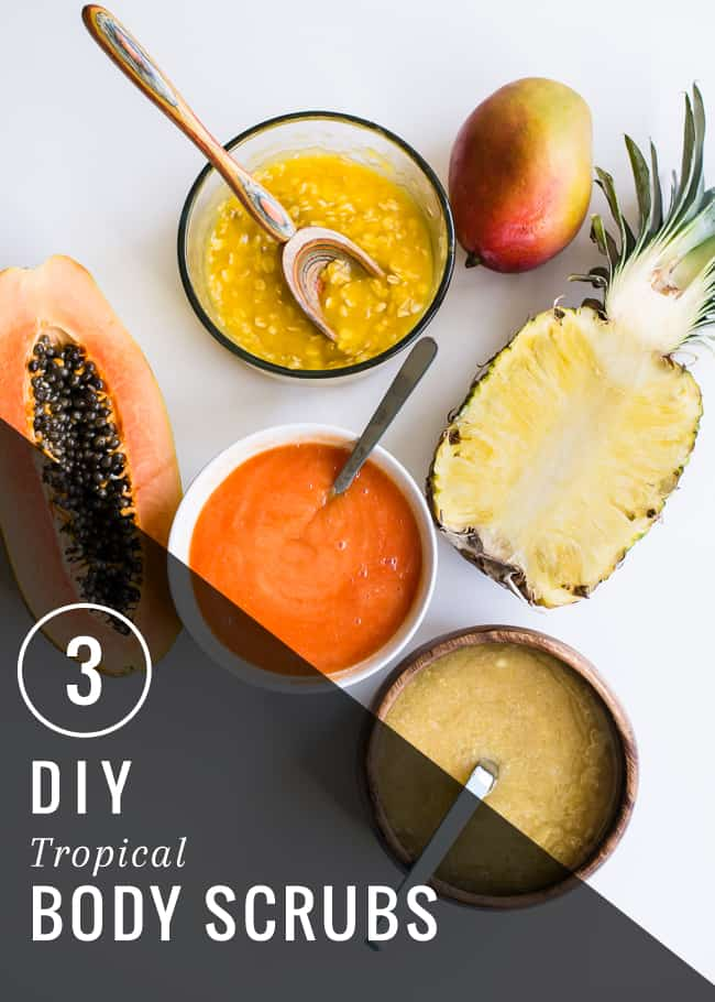 3 Tropical Body Scrubs | HelloNatural.co