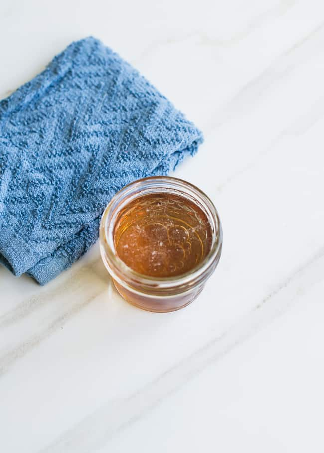 Apple Cider Vinegar Arm Bump Treamtment
