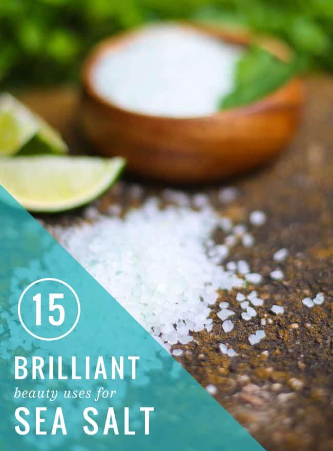 15 Beauty Uses for Sea Salt | HelloNatural.co