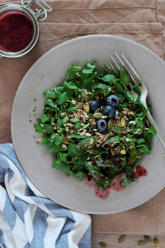 Blueberry Vinaigrette | 10  Homemade Salad Dressings