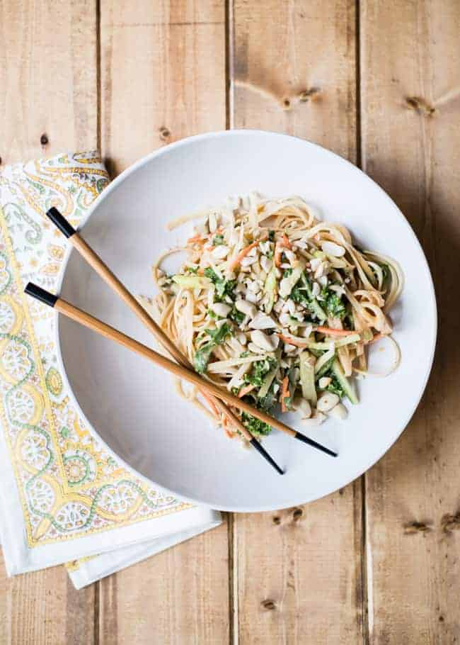 dressed noodles yibin style cold sichuan noodles with spinach and ...