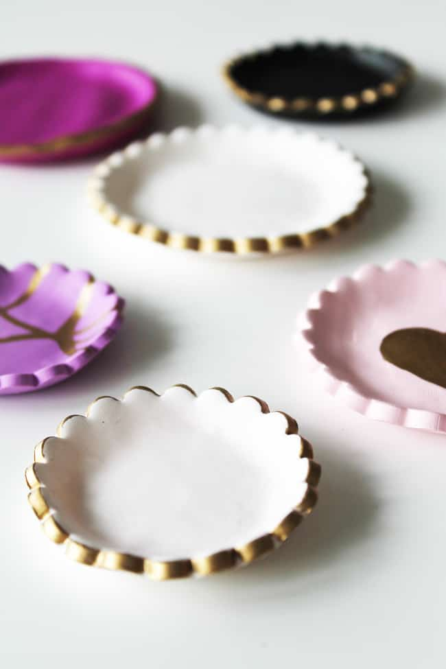 Diy clay jewelry dishes 3