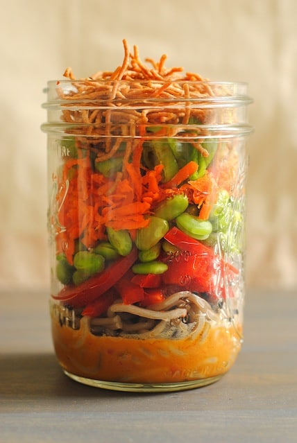 Asian noodle salad jar2